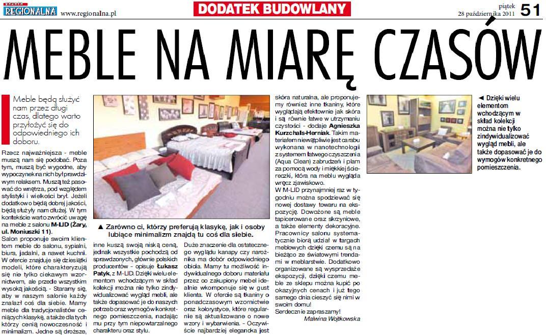 Gazeta Regionalna 28.10.2011