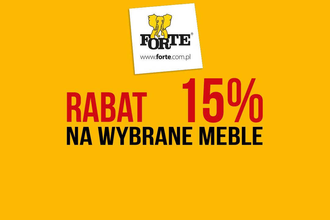 FORTE PROMOCJA -15%