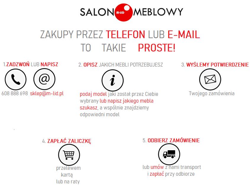 Witamy na stronie SALON MEBLOWY M-LID